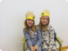 Lena & Marie Feiner, 6 Jahre