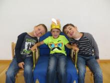 Samuel Tauchner, 5 Jahre