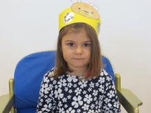 Amelie Weninger, 4 Jahre