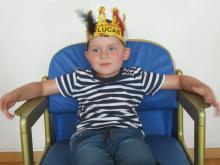 Lucas feiert seinen 5. Geburtstag!